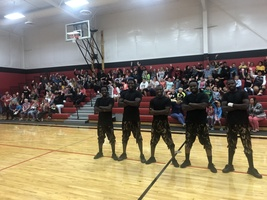 ZuZu African Acrobats Perform for Echo Charter School